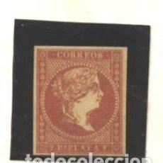 Sellos: ANTILLAS 1857 - EDIFIL NRO. 9 - ISABEL II - 2 R. - SIN GOMA. Lote 95085923