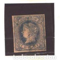 Sellos: ANTILLAS 1864 - EDIFIL NRO. 11 - ISABEL II - USADO. Lote 95086123