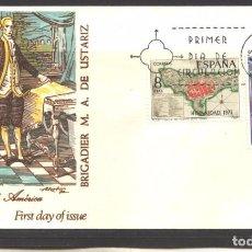 Sellos: ESPAÑA 1972 - FDC EDIFIL NRO. 2107 Y 2110 - HISPANIDAD PUERTO RICO - NUEVO. Lote 268873769