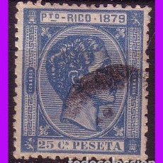 Sellos: PUERTO RICO 1879 ALFONSO XII, EDIFIL Nº 26 (O). Lote 96247007