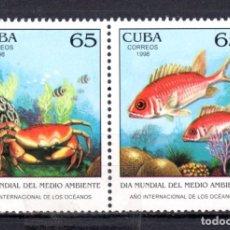 Sellos: SERIE COMPLETA DE CUBA** (DIA MUNDIAL DEL MEDIO AMBIENTE). Lote 97077947