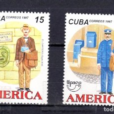 Sellos: SERIE COMPLETA DE CUBA** AÑO 1997 (UPAEP). Lote 97078299