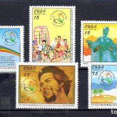 Sellos: SERIE COMPLETA DE CUBA** DEL AÑO 1997. Lote 97117827