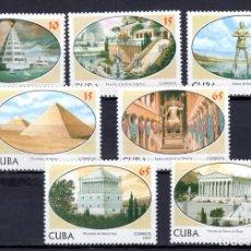 Sellos: SERIE COMPLETA DE CUBA** MONUMENTOS. Lote 97119043