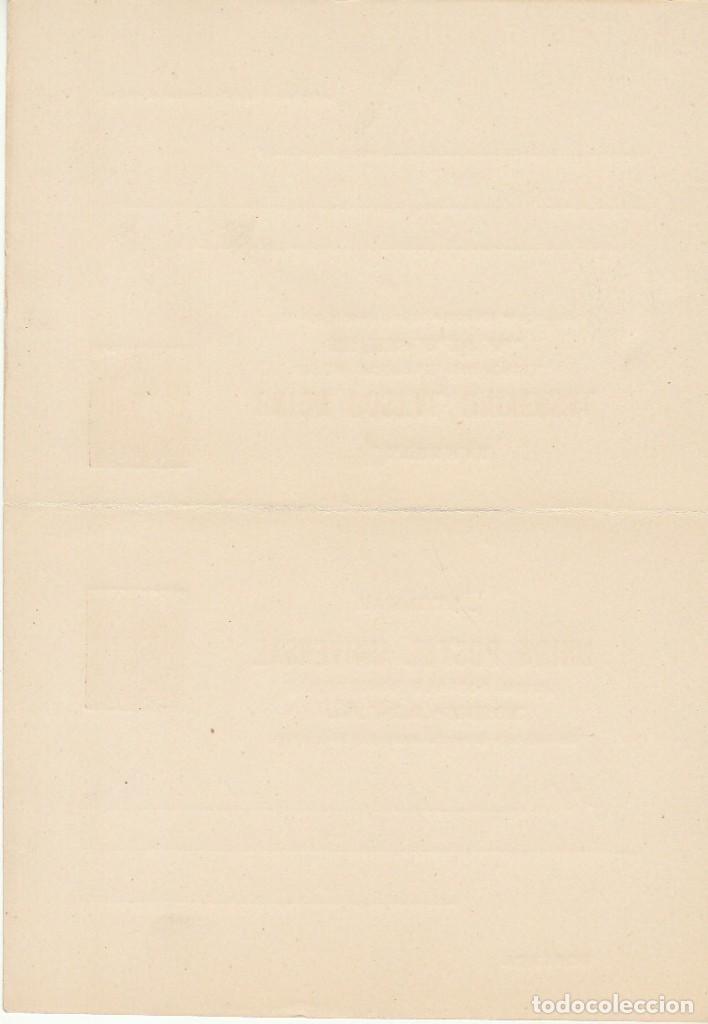 Sellos: E.P.: xx 13/14 ALFONSO XII 1882 (TARJETAS DOBLES) - Foto 2 - 97566895
