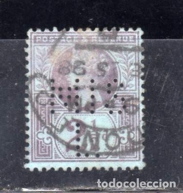 SELLO UNIVERSAL USADO Y PERFORADO (Sellos - España - Colonias Españolas y Dependencias - América - Otros)