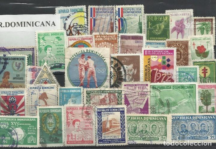 LOTE DE SELLOS DE R. DOMINICANA (Sellos - España - Colonias Españolas y Dependencias - América - Otros)