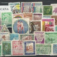 Sellos: LOTE DE SELLOS DE R. DOMINICANA . Lote 104009659