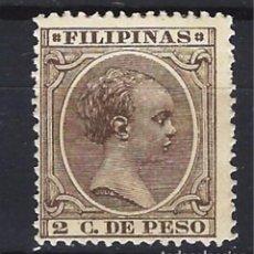 Sellos: FILIPINAS - COLONIA ESPAÑOLA - SELLO NUEVO CON CHARNELA. Lote 105355231