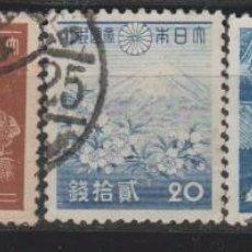 Sellos: LOTE U SELLOS JAPON AÑOS 40. Lote 106634543
