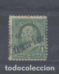 PUERTO RICO 1899 SELLOS EEUU, HABILITADOS, IVERT Nº 174 , USADO (Sellos - España - Colonias Españolas y Dependencias - América - Puerto Rico)