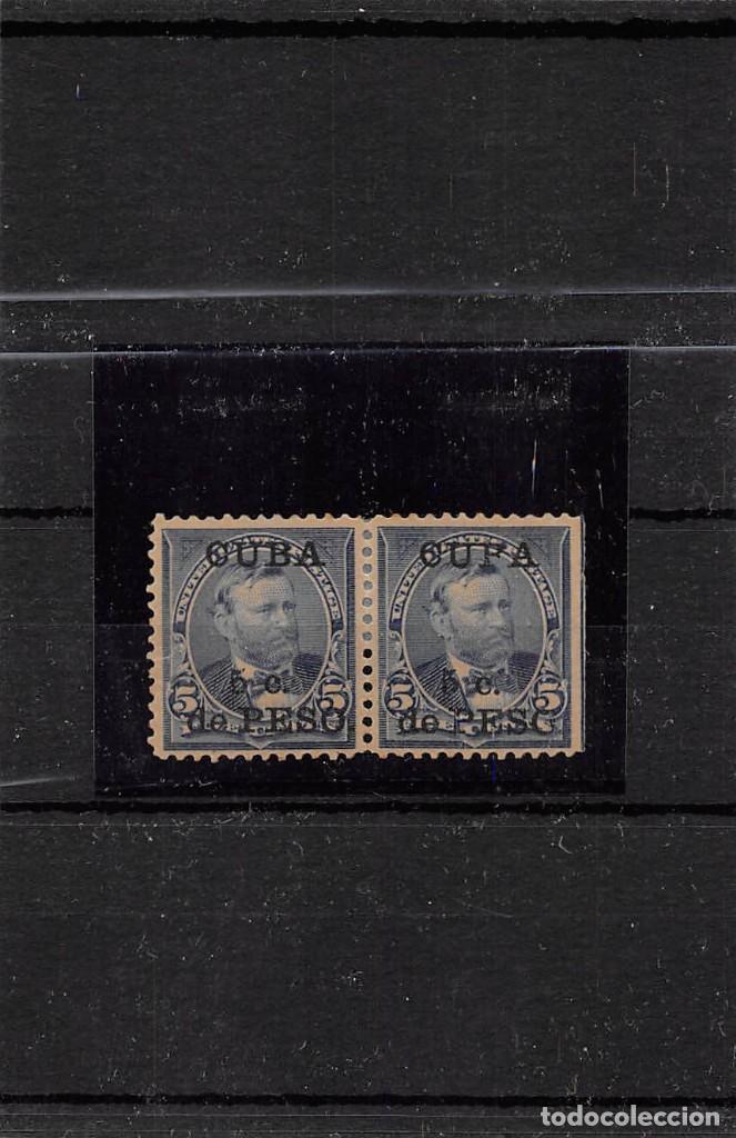 1899.- YVERT Nº 140+ SELLO CON SOBRECARGA - CUPA- (Sellos - España - Colonias Españolas y Dependencias - América - Cuba)