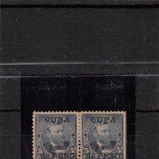 Sellos: 1899.- YVERT Nº 140+ SELLO CON SOBRECARGA - CUPA-. Lote 114982067