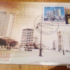 Sellos: HOJA BLOQUE DE CUBA 2008. Lote 116128815