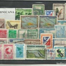 Sellos: LOTE DE SELLOS DE REPÚBLICA DOMINICANA. Lote 116364663