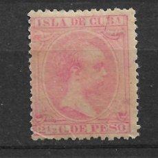 Sellos: ESPAÑA ULTRAMAR 1896 EDIFIL 148 * - 3/33. Lote 117984107