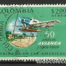 Sellos: COLOMBIA-- SELLO USADO. Lote 118493351
