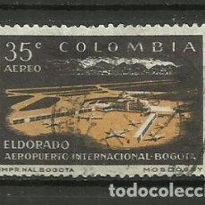 Sellos: COLOMBIA-- SELLO USADO. Lote 118493451