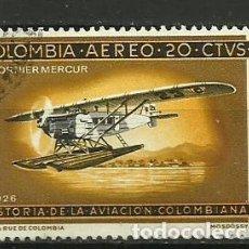 Sellos: COLOMBIA-- SELLO USADO. Lote 118493495