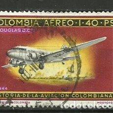 Sellos: COLOMBIA-- SELLO USADO. Lote 118493583