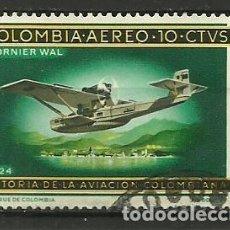 Sellos: COLOMBIA-- SELLO USADO. Lote 118493619