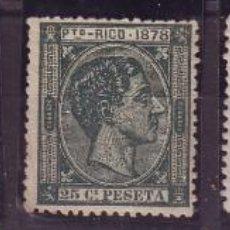Sellos: PUERTO RICO 18/22 * MH LUJO. CERTIFICADO VC +475 EUROS. Lote 120367567