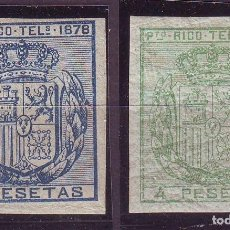 Sellos: PUERTO RICO TELEGRAFOS 17/18 S *MH. VC 130 EUROS. Lote 120810043
