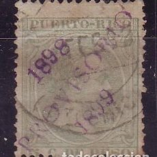 Sellos: PUERTO RICO 1898 Y 99. SELLO PROVISORIO USADO. MUY POCOS EJEMPLARES CONOCIDOS. Lote 120816555