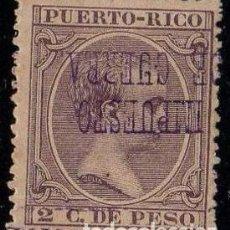 Sellos: PUERTO RICO IMPUESTO GUERRA 4 I *MH SOBRECARGA INVERTIDA. Lote 121666563