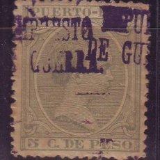 Sellos: PUERTO RICO IMPUESTO GUERRA 4 K *MH. DOBLE SOBRECARGA. Lote 121666943