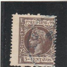 Sellos: PUERTO RICO 1898 - EDIFIL NRO. 137 - ALFONSO XIII - 3C. - USADO. Lote 125093908