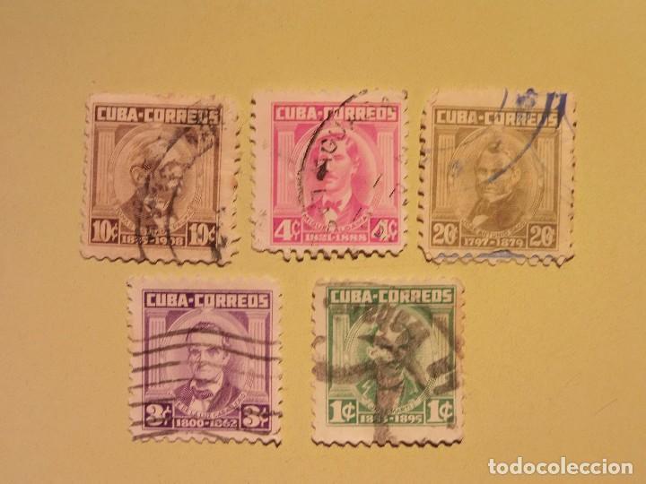 CUBA - PERSONAJES. (Sellos - España - Colonias Españolas y Dependencias - América - Cuba)