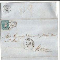 Sellos: CUBA.CARTA AÑO 1860. Lote 131529450