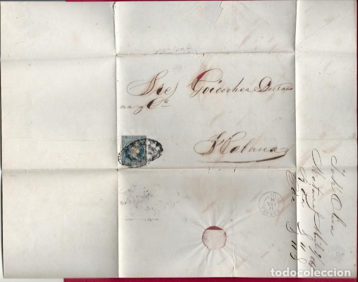 CUBA.CARTA 1861. (Sellos - España - Colonias Españolas y Dependencias - América - Cuba)