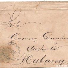 Sellos: CUBA.CARTA 1892.. Lote 131530970