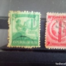 Sellos: CUBA 1939,**HABANOS CUBANOS ** 257/58. Lote 133893086