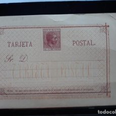 Sellos: ENTERO POSTAL CUBA 1882. ALFONSO XII. EDIFIL 17. 4 CTS . Lote 133962666