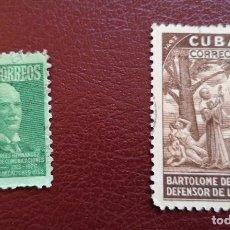 Sellos: LOTE 2 SELLOS 1944 Y 1952 USADO. Lote 134345090