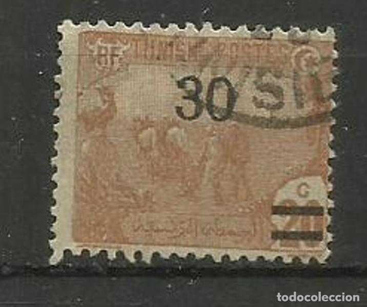 FRANCIA COLONIAS- USADO- TUNISIE 1925 HABILITADO (Sellos - España - Colonias Españolas y Dependencias - América - Otros)