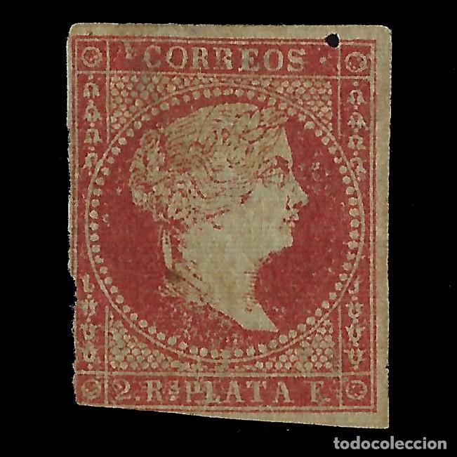 ANTILLAS.1855. ISABEL II.2R.MNG.EDIFIL 3 (Sellos - España - Colonias Españolas y Dependencias - América - Antillas)