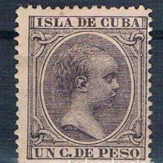 Sellos: ESPAÑA 1896/1897 CUBA 146 NUEVO CON GOMA DOS FOTOGRAFÍAS. Lote 140194450