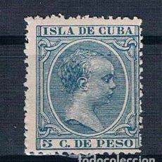 Sellos: ESPAÑA 1896/1897 CUBA 149 NUEVO CON GOMA DOS FOTOGRAFÍAS. Lote 140195446