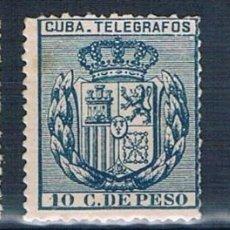 Sellos: ESPAÑA CUBA TELEGRAFOS 1896 EDIFIL 81, 82, 84 VALOR CATALOGO UNOS 22€. Lote 140331350