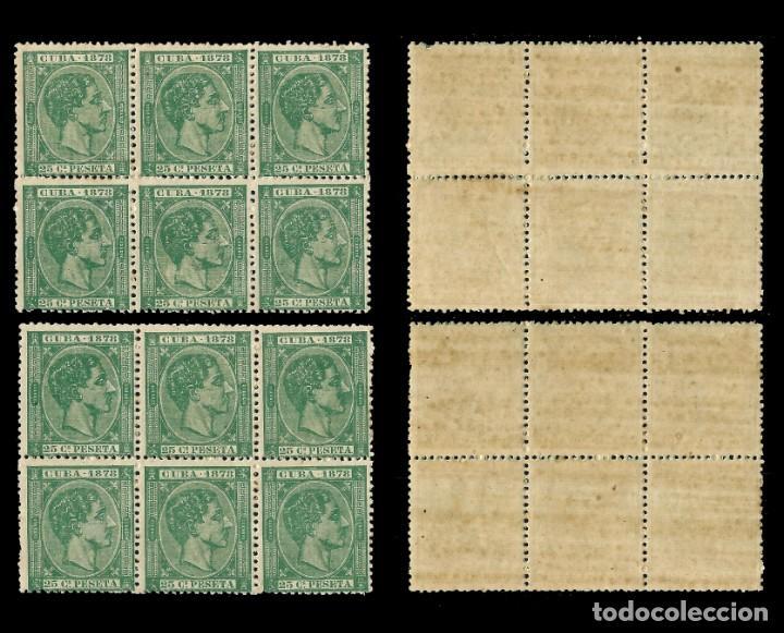 Sellos: CUBA 1878 Alfonso XII.25c. Verde . Nuevo**. Edif.nº47 - Foto 2 - 140577186