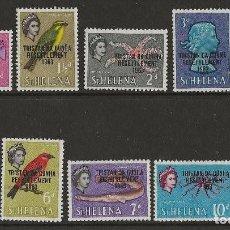 Sellos: TRISTAN DA CUNHA - SERIE CORTA 1963 * YVERT 55/63. Lote 140597630