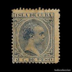 Sellos: SELLO ESPAÑA.CUBA. 1890.ALFONSO XIII.2C.AZUL OSCURO. NUEVO*. EDIF.Nº113. Lote 141451122