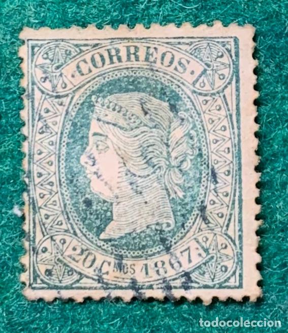 Nº 20. ISABEL II 20 C. CORREO LOCAL DE LA HABANA (Sellos - España - Colonias Españolas y Dependencias - América - Cuba)