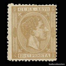 Sellos: CUBA 1878 ALFONSO XII.12 ½ .MNG.EDIFIL 46. Lote 146859722