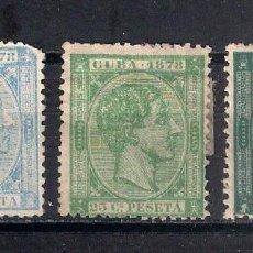 Sellos: ESPAÑA ULTRAMARCUBA 1878 - 9/32. Lote 147581774
