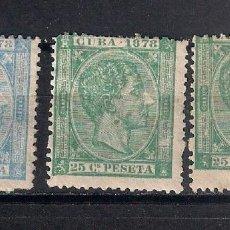 Sellos: ESPAÑA ULTRAMARCUBA 1878 - 9/32. Lote 147581806